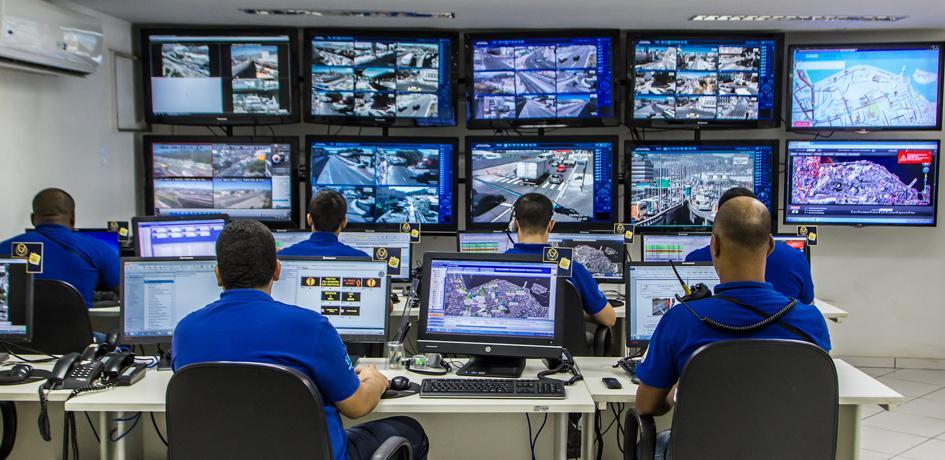 Centro de Controle de Operações da Concessionária Porto Novo
