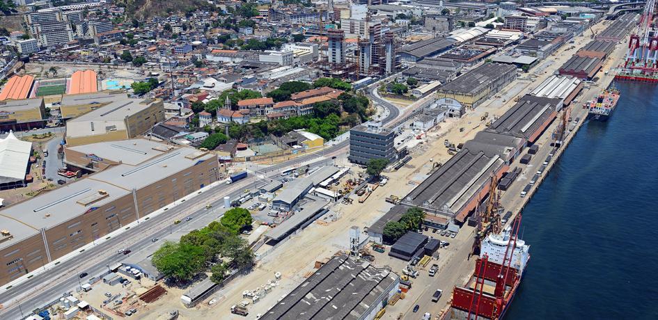 Obras de retirada do Elevado da Perimetral - Outubro 2014