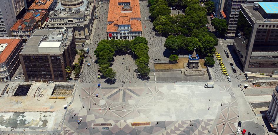 Obras de Retirada do Elevado da Perimetral - Praça XV - Outubro 2014
