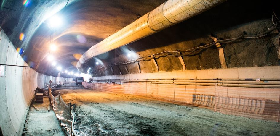 Obras de construção da Via Expressa - Fevereiro 2015