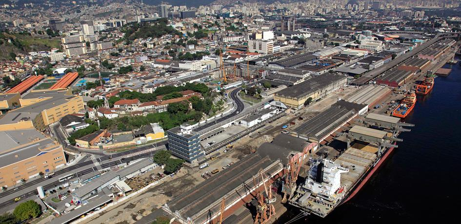 Obras de retirada da Perimetral - Julho 2014