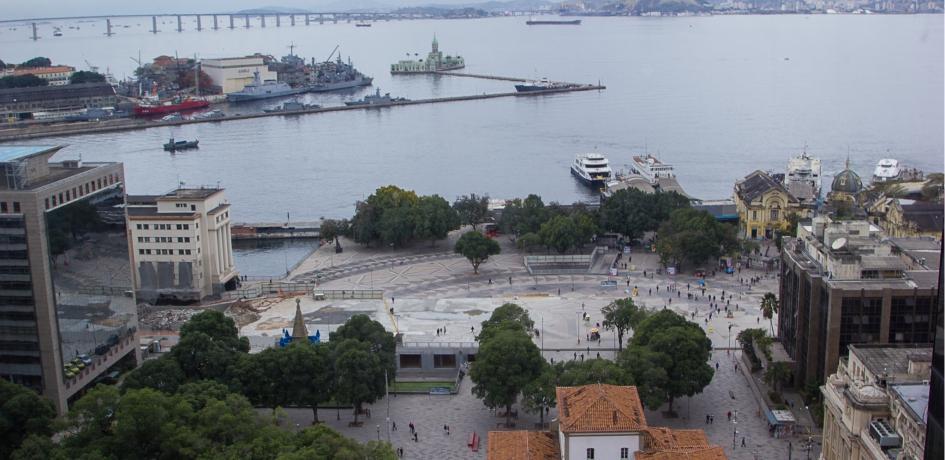 Praça XV - Retirada da Perimetral - Agosto 2014
