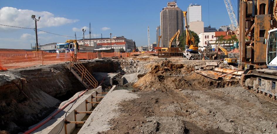 Obras da Via Expressa - Agosto 2014