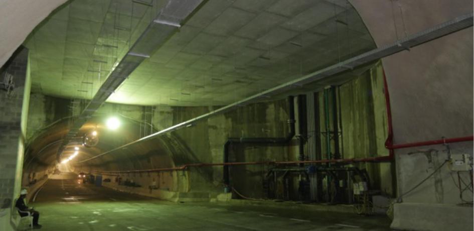 Construção do Túnel Rio450 que integra a Via Binário do Porto - Crédito: Ricardo Cassiano