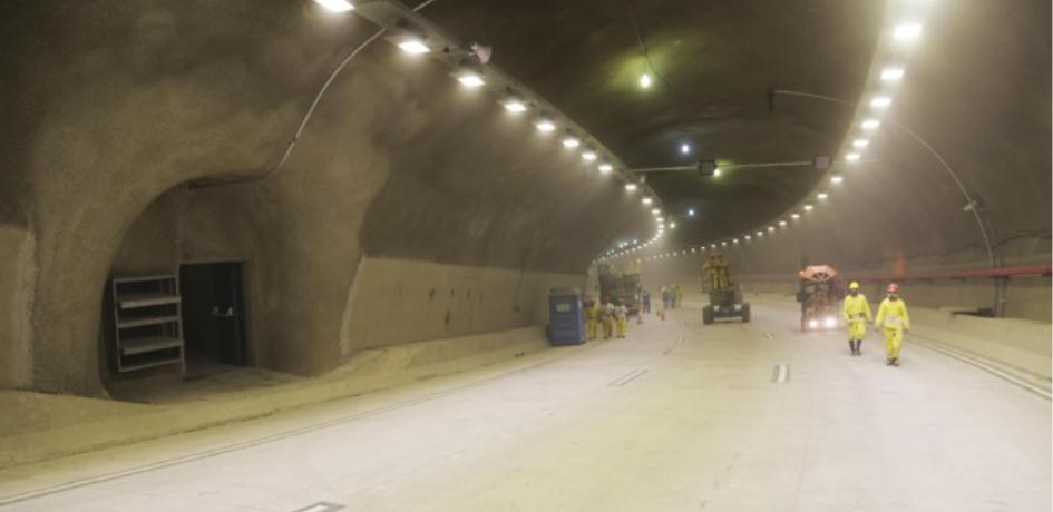 Construção do Túnel Rio450 que integra a Via Binário do Porto -Crédito: Ricardo Cassiano
